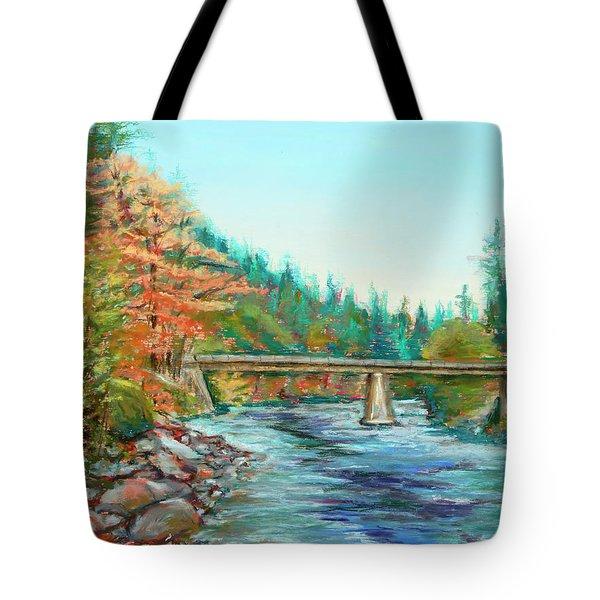Riverdance Tote Bag