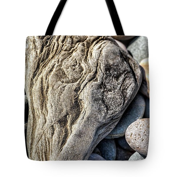 Rivered Stone Tote Bag