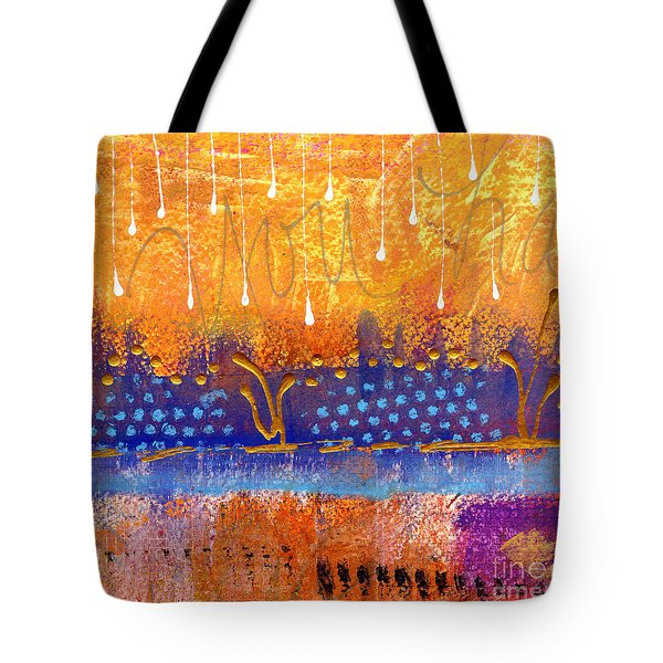 Riverfront View Tote Bag by Angela L Walker