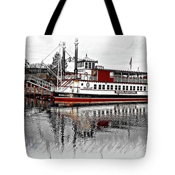 Riverlady.com Tote Bag