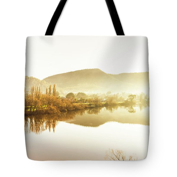 Rivers And Mist Tote Bag