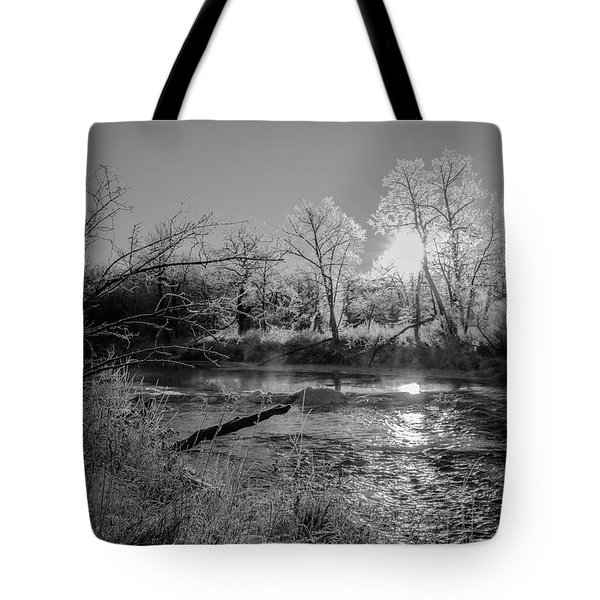 Rivers Edge Tote Bag by Annette Berglund