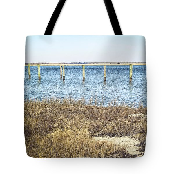 Tote Bag featuring the photograph River's Edge by Colleen Kammerer