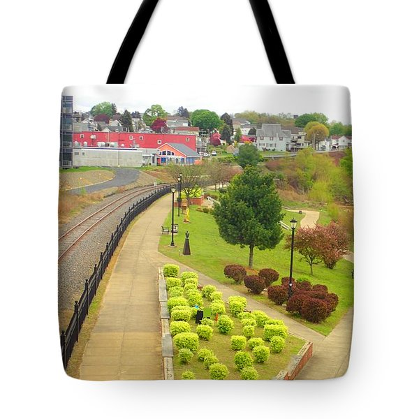 Rivers Edge Living   Tote Bag