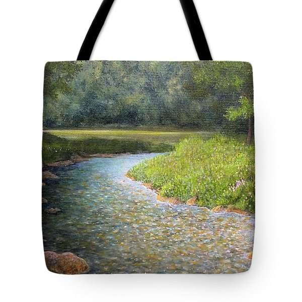 Rivers End Tote Bag