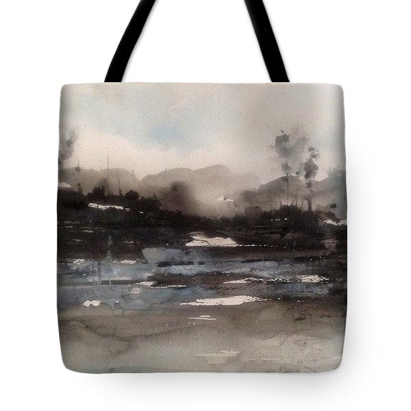 Rivers Of Light Series Tote Bag