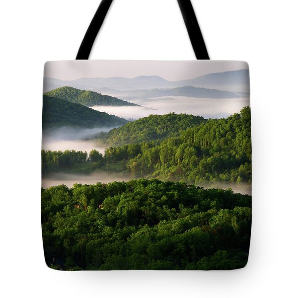 Rivers Of White Tote Bag