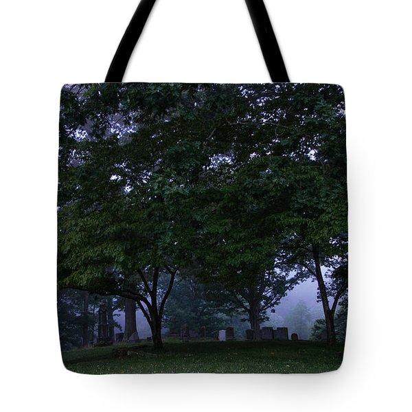 Riverside Cemetery Tote Bag