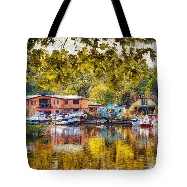 Riverview Ix Tote Bag