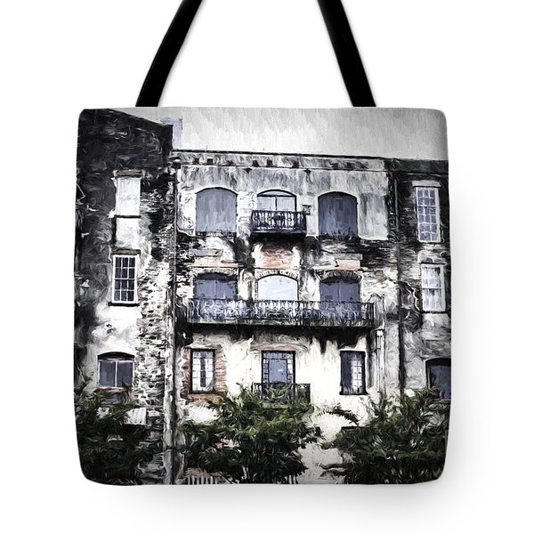 Tote Bag featuring the photograph Riverview by Judy Wolinsky