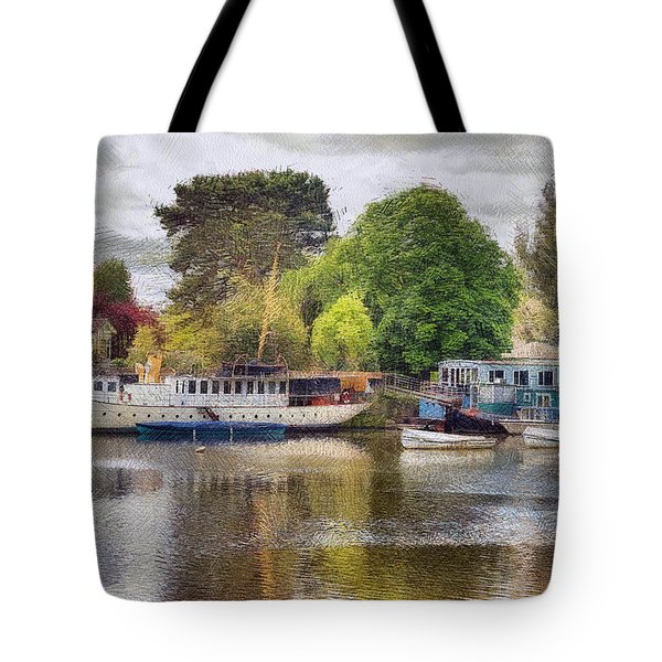 Riverview Vii Tote Bag
