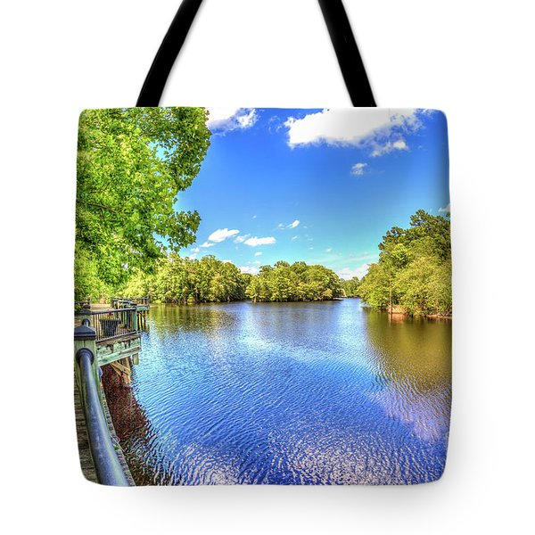Riverwalk Along The Waccamaw Tote Bag