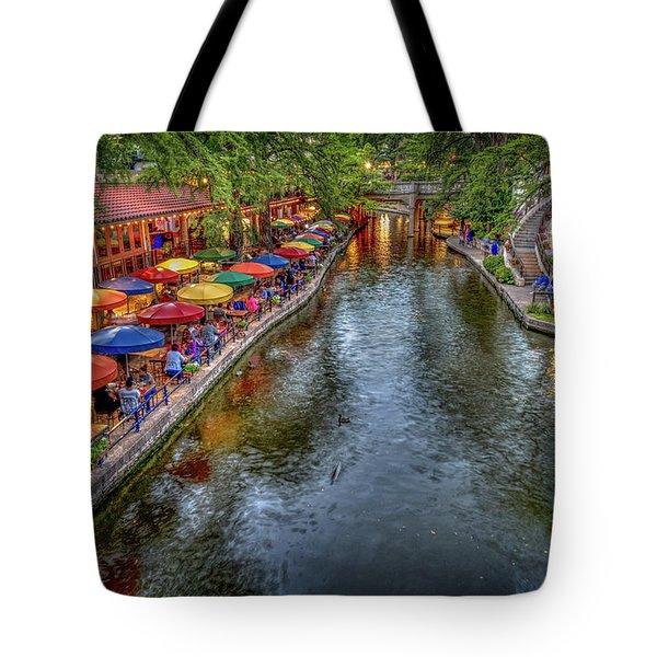 Riverwalk San Antonio Texas Tote Bag