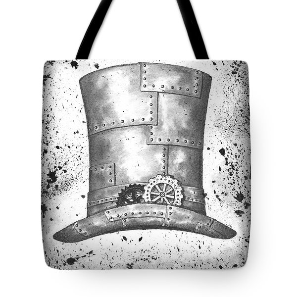 Riveting Top Hat Tote Bag by Adam Zebediah Joseph