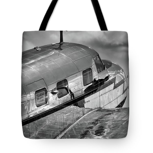 Rivets And Polished Metal Tote Bag