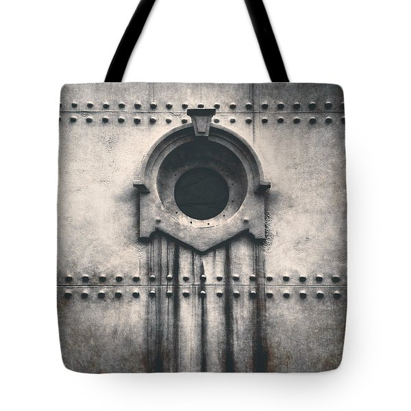 Rivets And Rust Tote Bag by Scott Norris