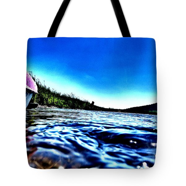 Rivewaves Tote Bag