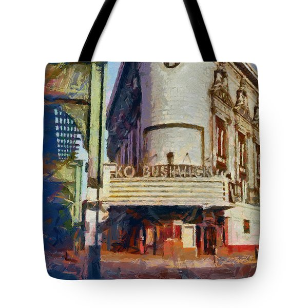 Rko Bushwick Theater 1974 Tote Bag