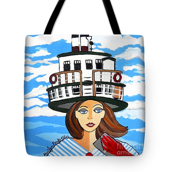 R.m.s. Segwun - Delivering The Mail  Tote Bag