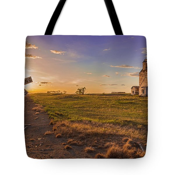 End Of The Day On The Montana Hi Line Tote Bag
