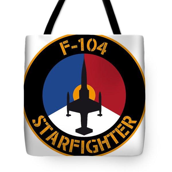 Rnlaf F-104 Starfighter Tote Bag by Nop Briex