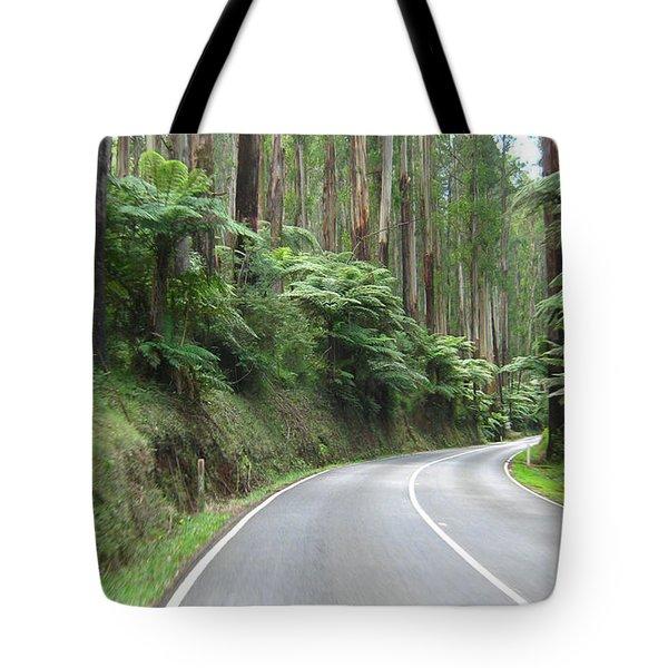Road 2 Tote Bag