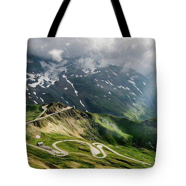 Road Austria Tote Bag