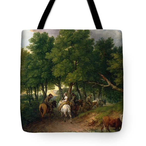Road From Market  Tote Bag