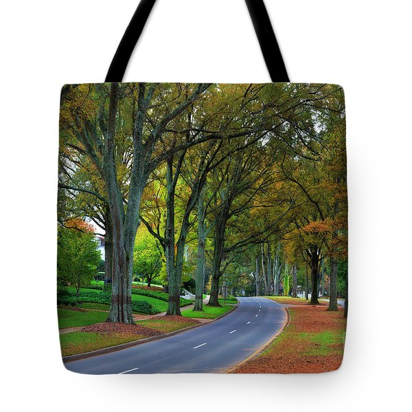 Road In Charlotte Tote Bag