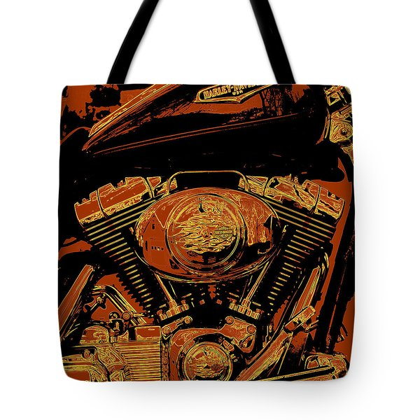 Road King Tote Bag