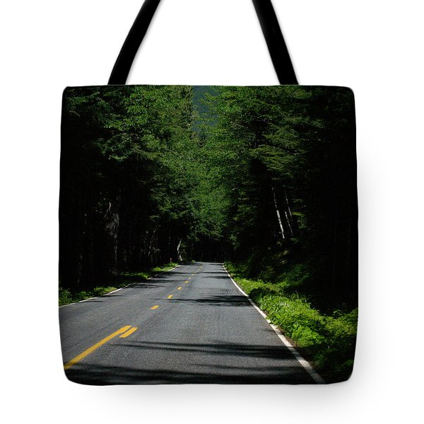 Road Leading To Where? Tote Bag