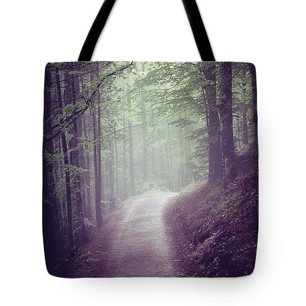 Road Less Traveled Tote Bag