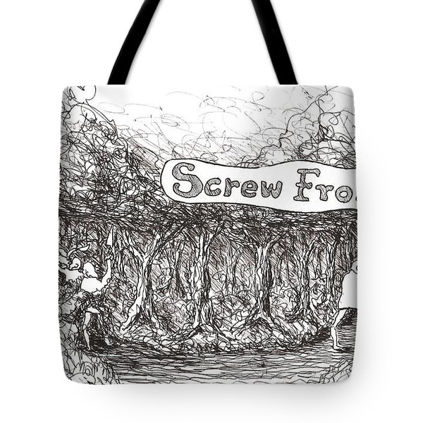 Road More Travelled Tote Bag