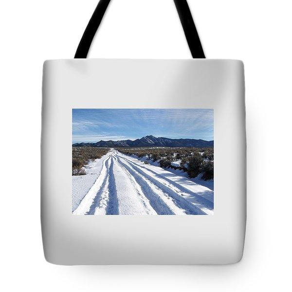 The Road Of Happiness Tote Bag