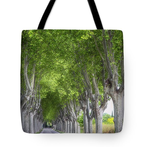 Road To Arles Tote Bag