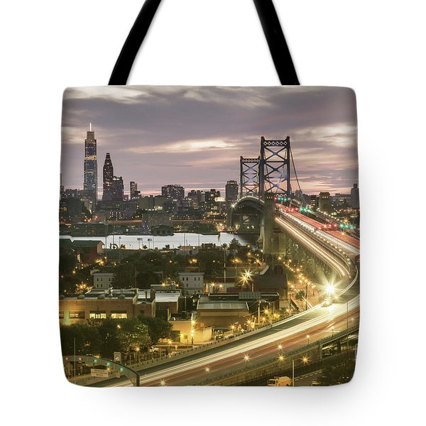 Road To Brotherly Love Tote Bag