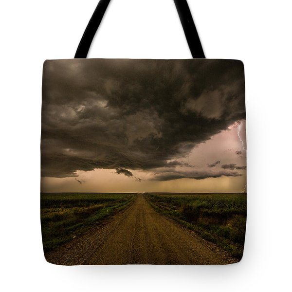 Road To Chaos  Tote Bag