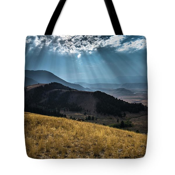 Road To Curtis Canyon Tote Bag