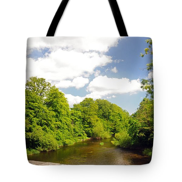 Road To Dunboyne Tote Bag by Cindy Murphy - NightVisions