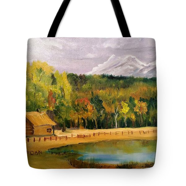 Road To Kintla Lake Tote Bag