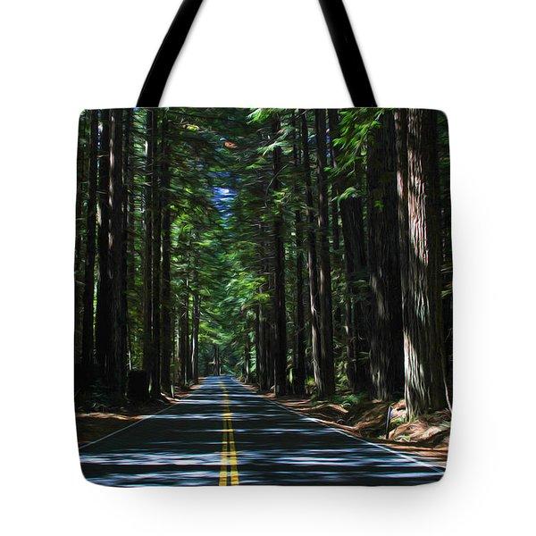 Road To Mendocino Tote Bag