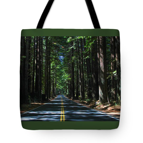 Road To Mendocino Tote Bag