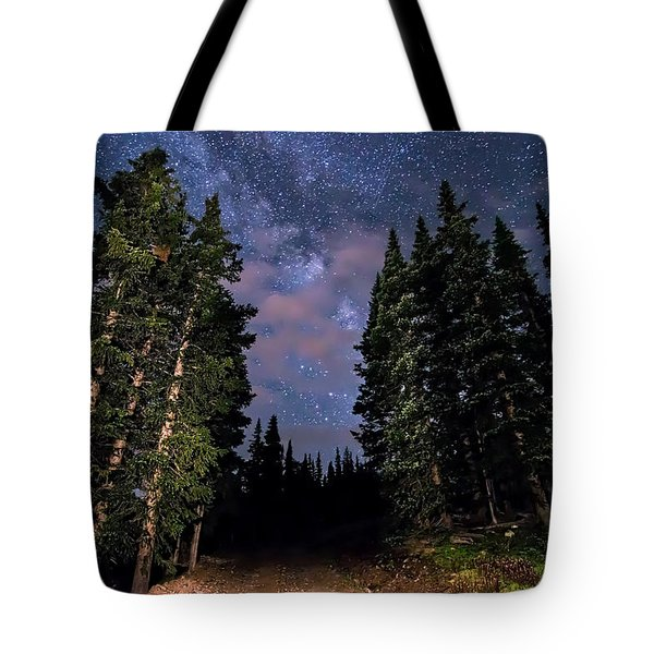 Road To Milky Way Tote Bag
