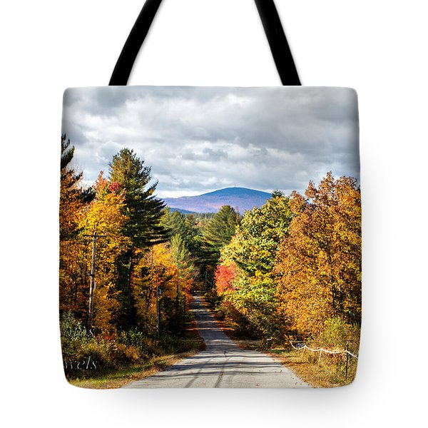 Road To Mt. Kearsage Tote Bag