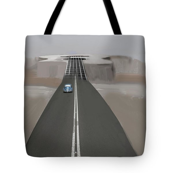 Road To Music Tote Bag