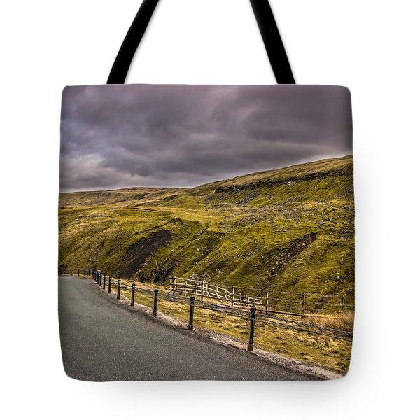 Road To No Where Tote Bag by David Warrington