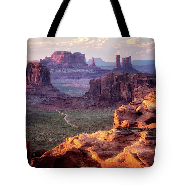 Road To Nowhere  Tote Bag by Nicki Frates