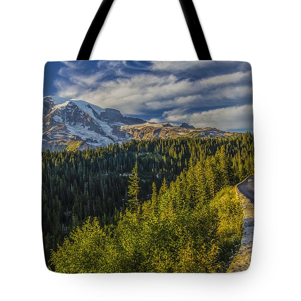 Road To Paradise Tote Bag