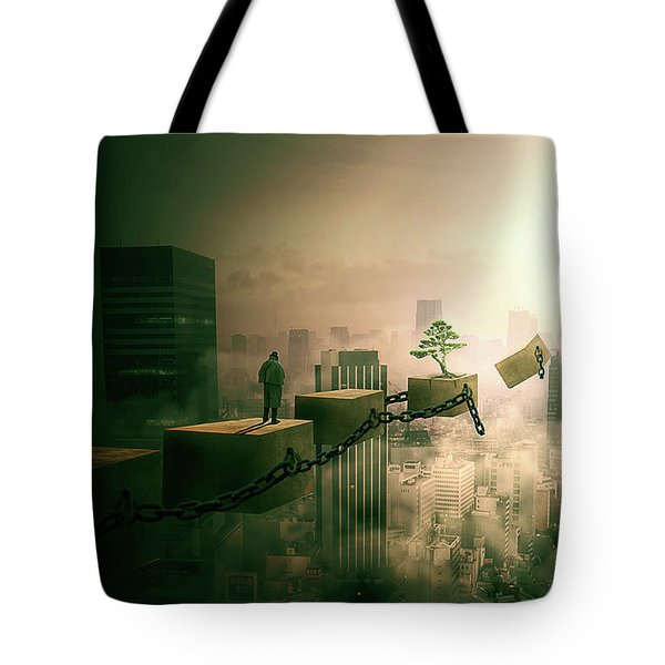 Road To Recovery  Tote Bag by Nathan Wright
