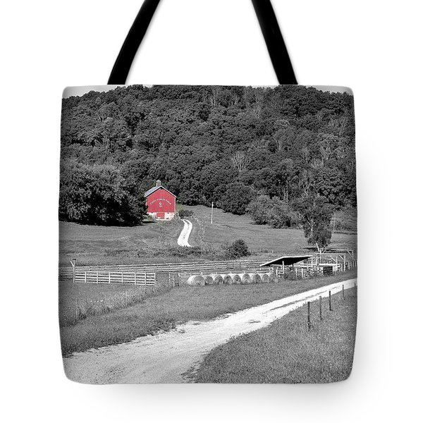 Road To Red Tote Bag